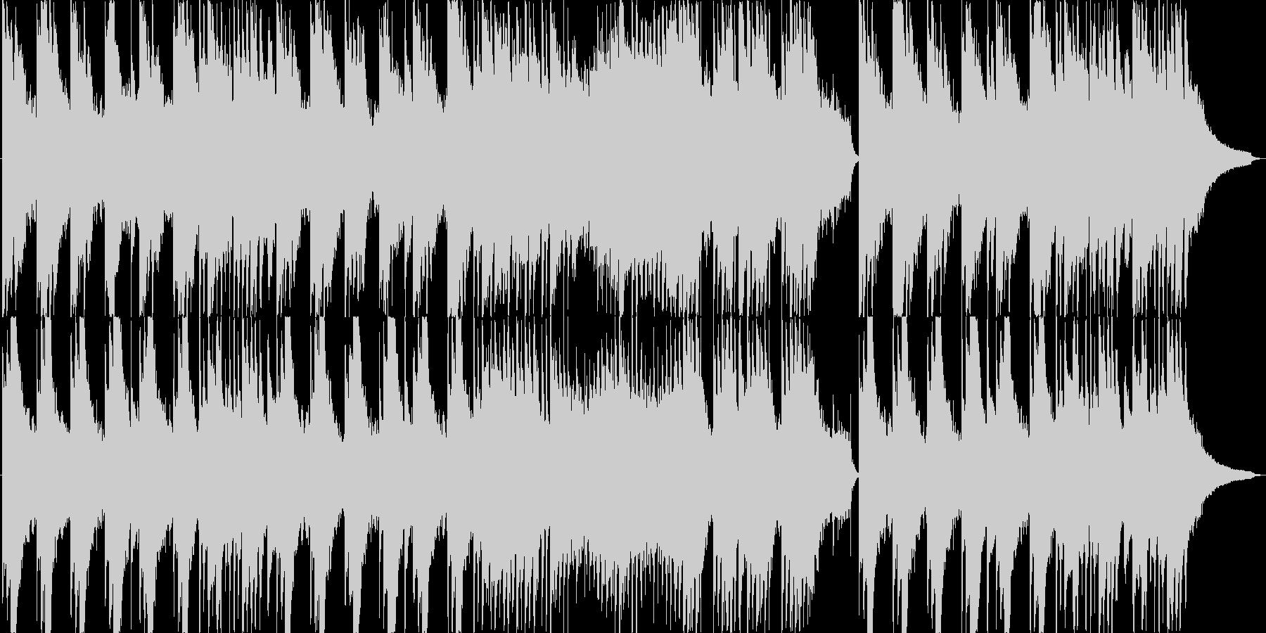 ピアノを中心とした落ち着いた優しい楽曲の未再生の波形