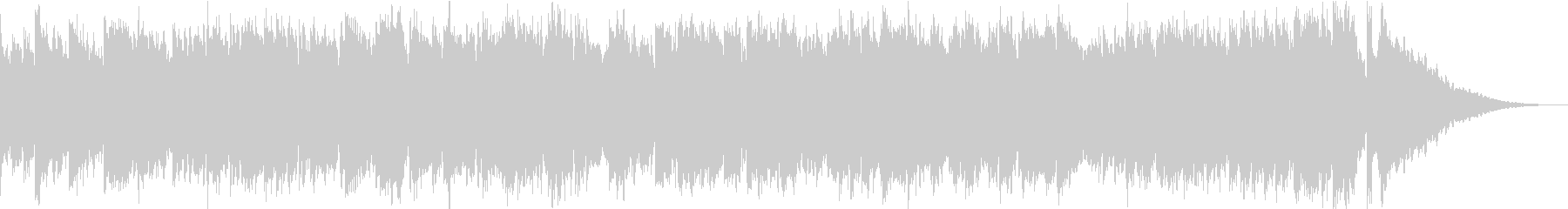 ビブラフォンによるメロウなワルツの未再生の波形