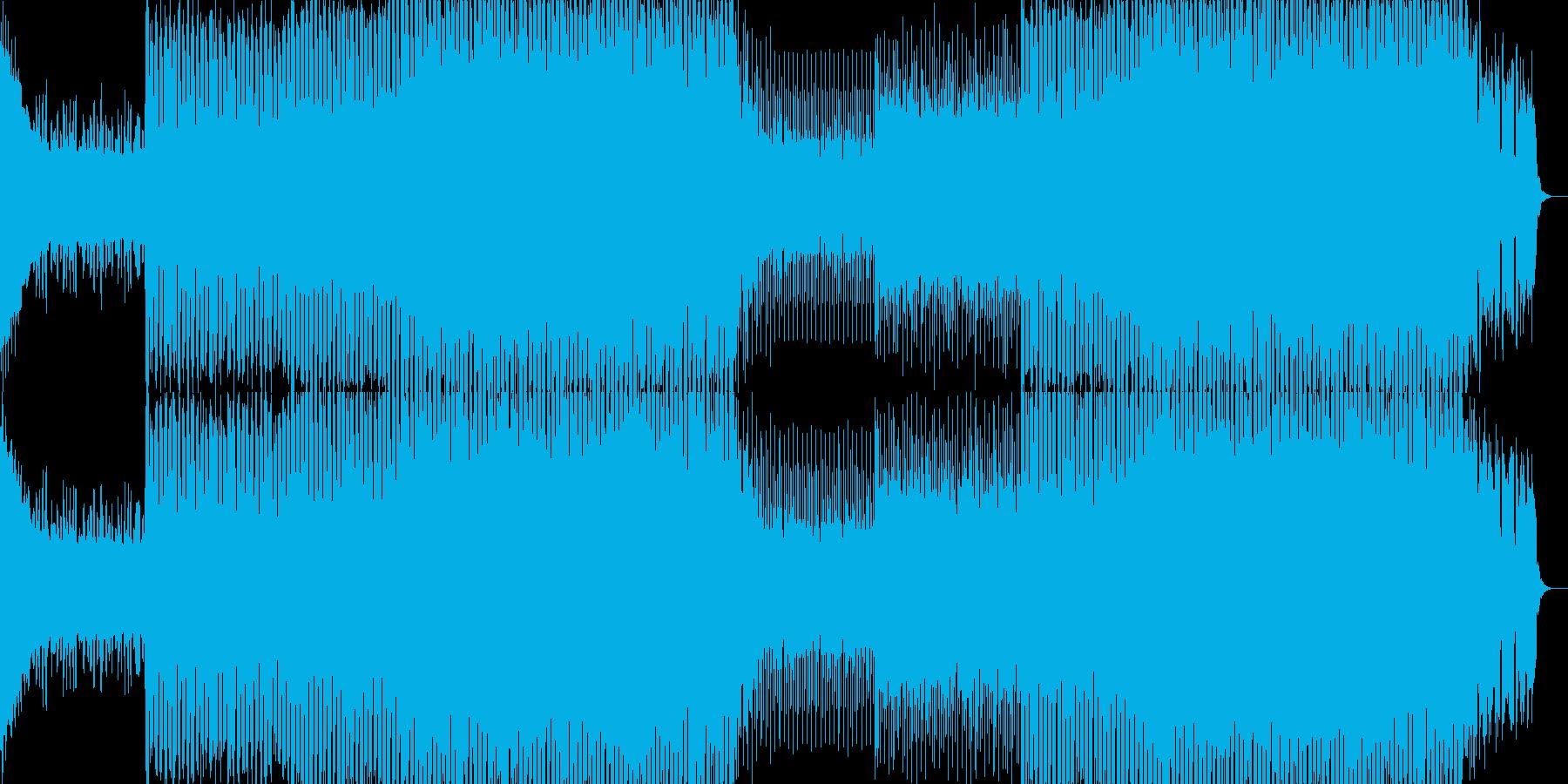 EDMクラブ系ダンスミュージック-91の再生済みの波形