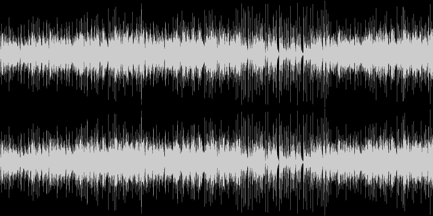 おしゃれなエレピトリオジャズのループの未再生の波形