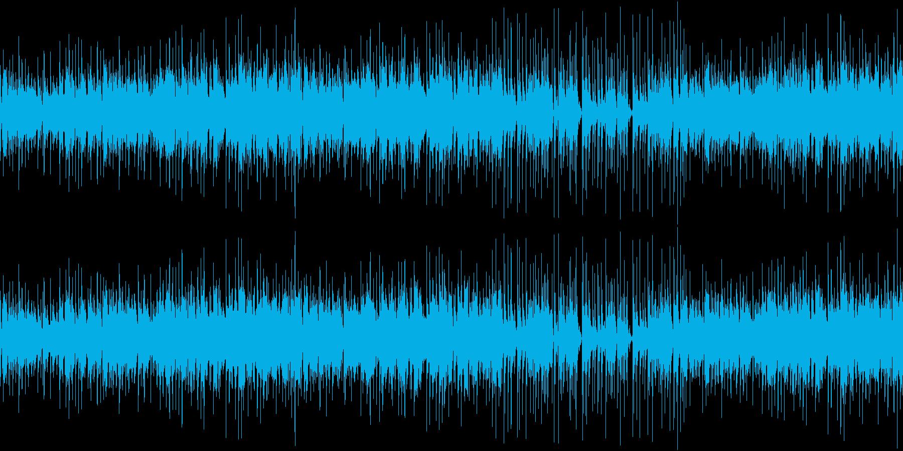 おしゃれなエレピトリオジャズのループの再生済みの波形