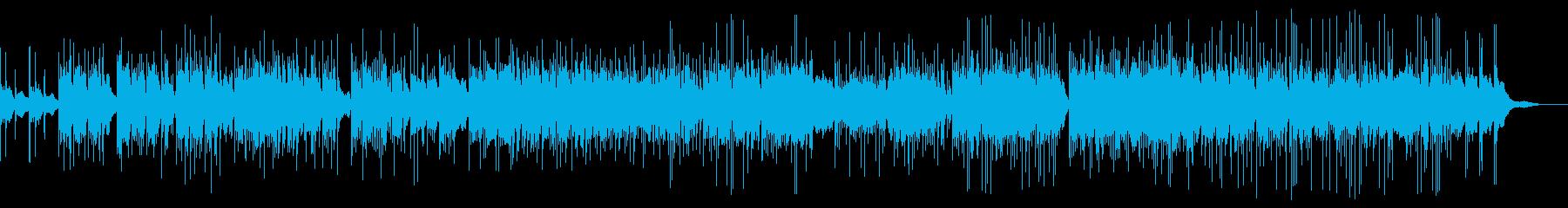 インドの楽しい民族音楽の再生済みの波形