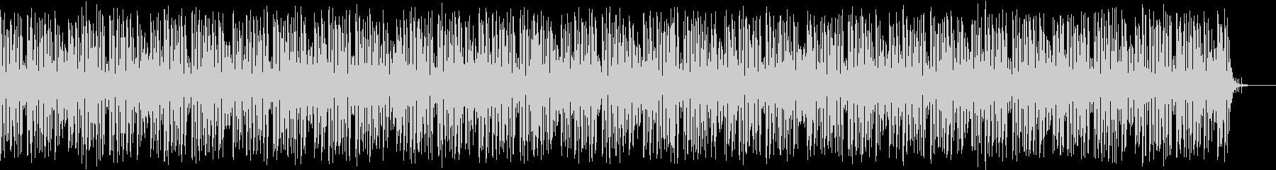マイナーコードのお洒落なブルースBGMの未再生の波形