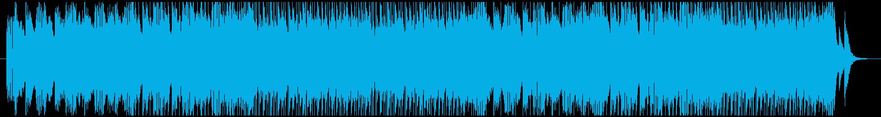 触発された光の再生済みの波形