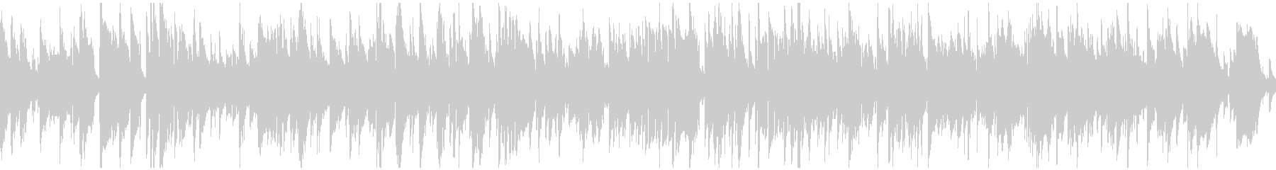 ロマンチックなジャズワルツ ※ループ版の未再生の波形