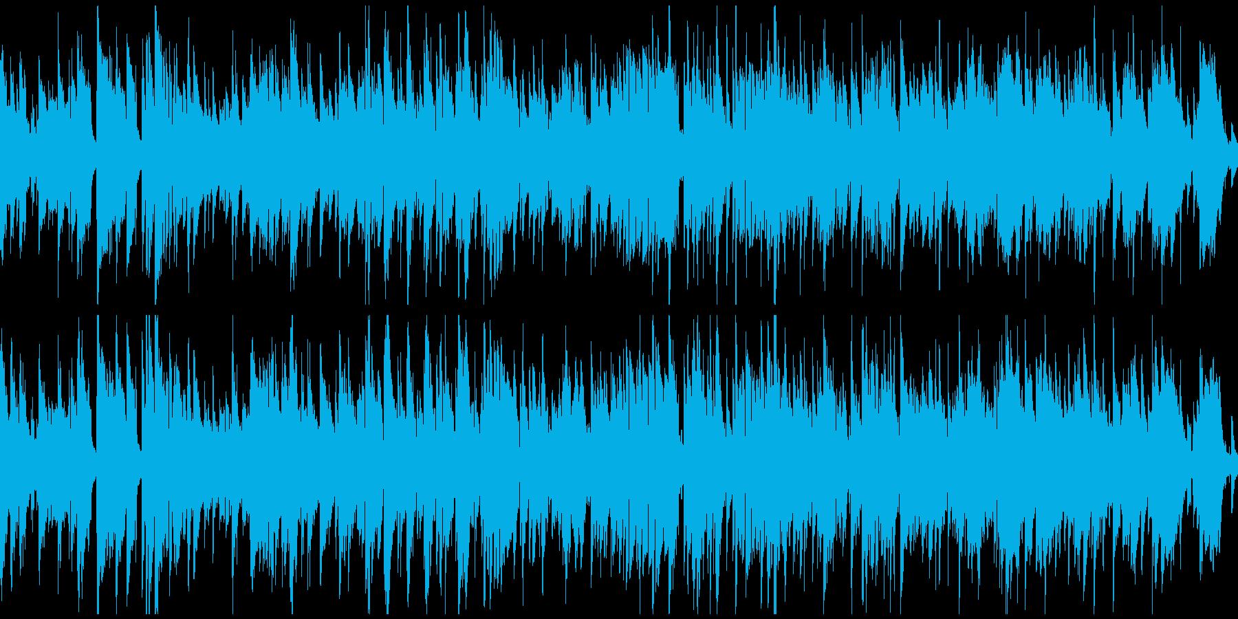 ロマンチックなジャズワルツ ※ループ版の再生済みの波形
