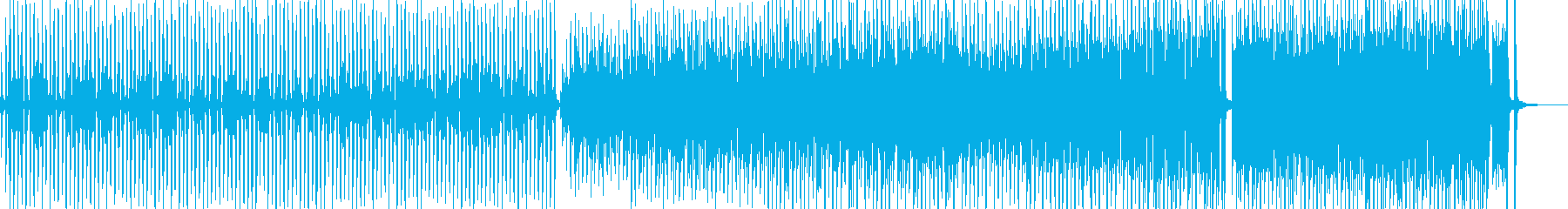 赤面!コミカルシンセポップ B2の再生済みの波形