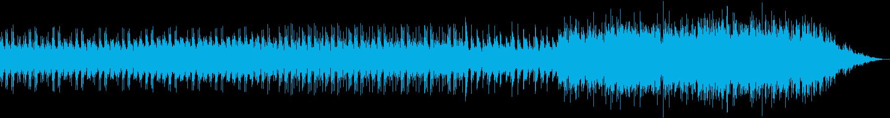 ハッピーエンド風の優しいバラードの再生済みの波形