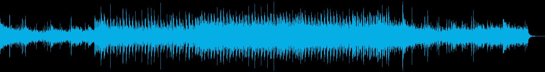 リズミカルで幻想的なテクニカルポップスの再生済みの波形