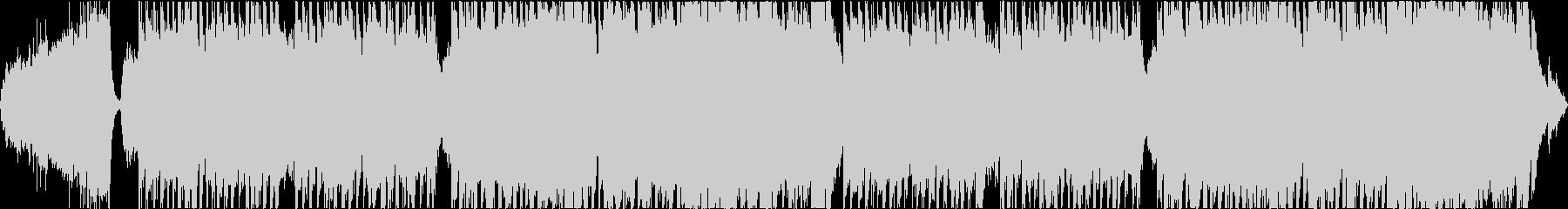 序盤のバトル系の軽快なオーケストラの未再生の波形