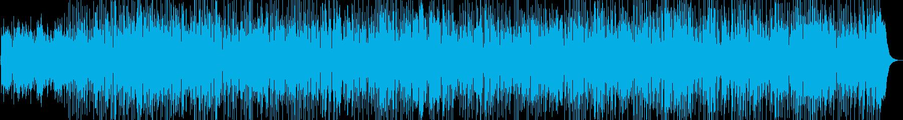 爽やかな夏のボサノバの再生済みの波形