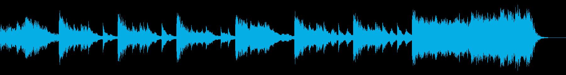 琴+太鼓+オーケストラ 雅で妖艶な和風の再生済みの波形