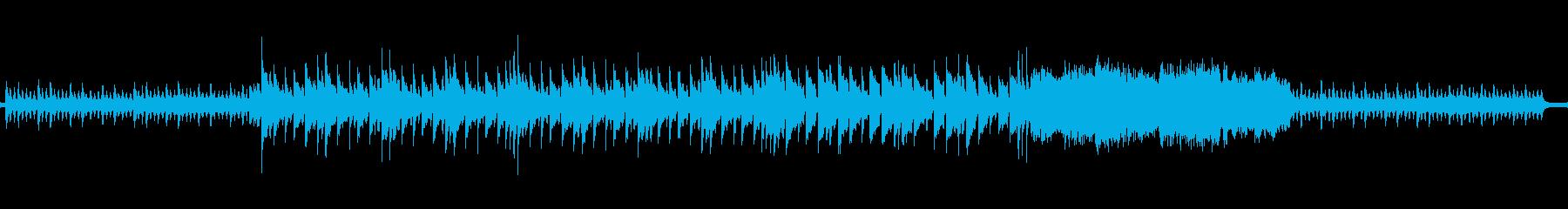 サスペンス的なイメージの再生済みの波形