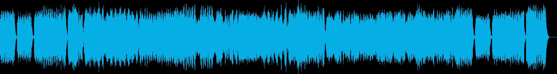 マンドリンコンチェルトの再生済みの波形