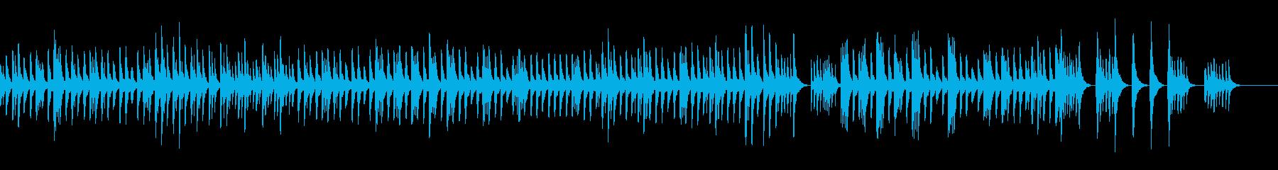 星の夜空のBGM/リラクゼーション/眠りの再生済みの波形