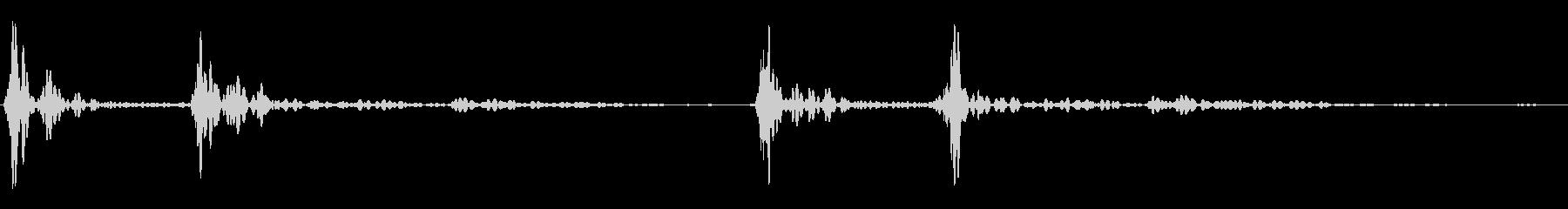 ドックンドックン(心臓音)01の未再生の波形