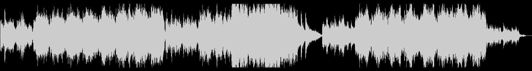 ピアノ ストリングス エピック バラードの未再生の波形