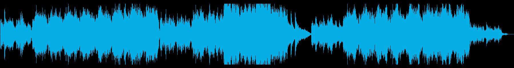 ピアノ ストリングス エピック バラードの再生済みの波形