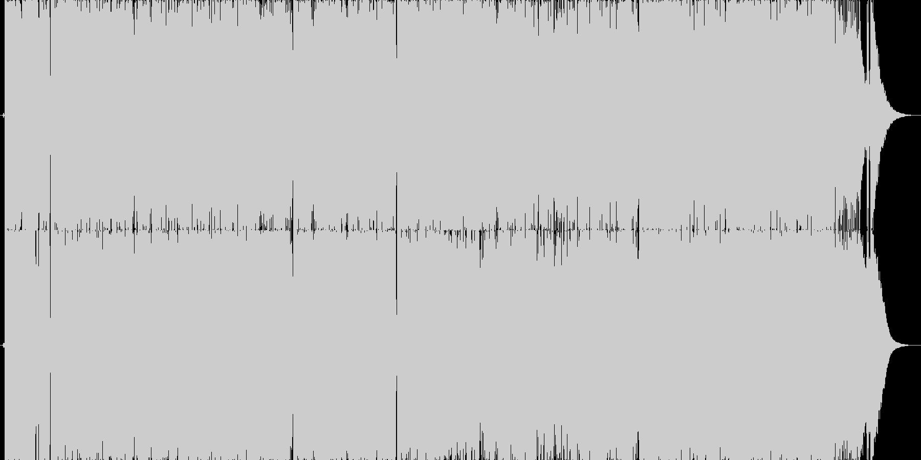 女性Vo.疾走感爆発ギターロック!!の未再生の波形