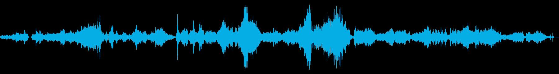 幻想的でけだるく暗い雰囲気のクラシック曲の再生済みの波形
