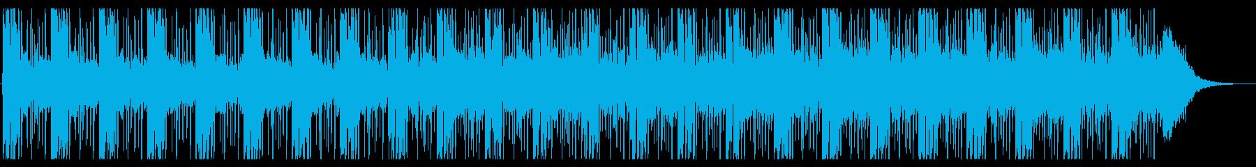 幻想的で怪しい雰囲気のエレクトロニカの再生済みの波形