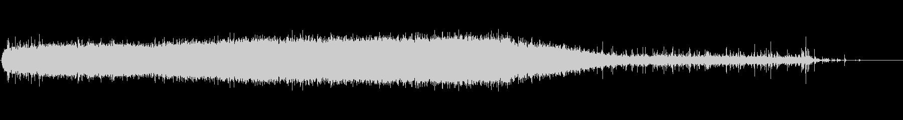 シャワーランニング5;スローランニ...の未再生の波形