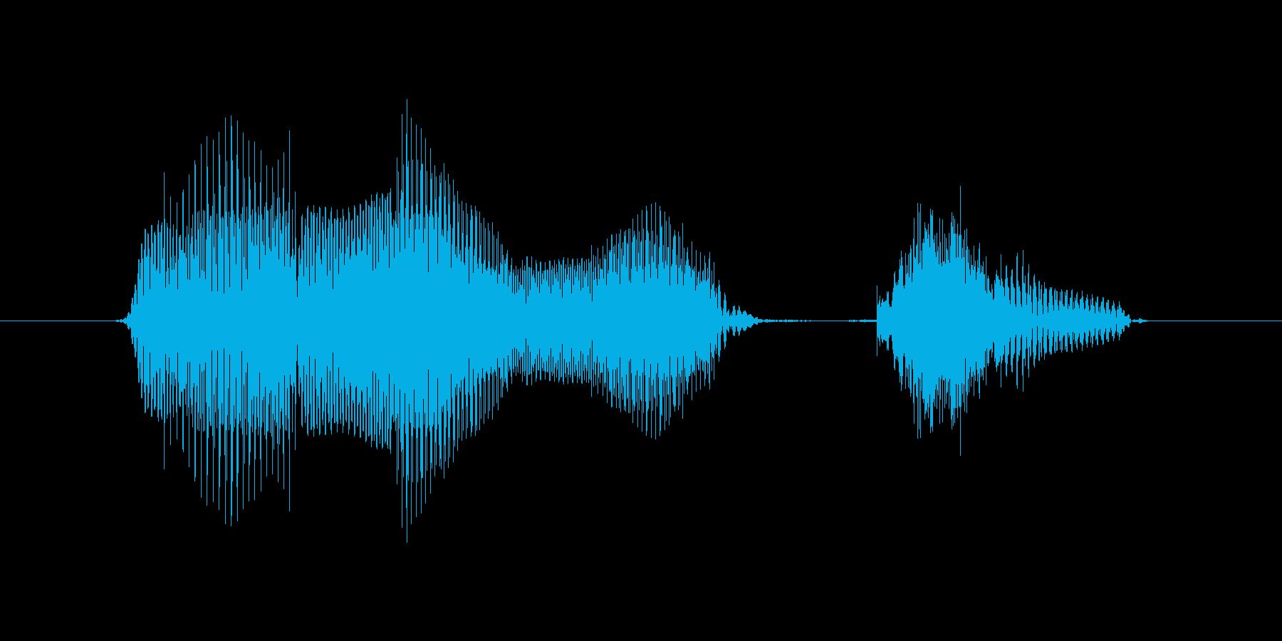 7月(7月・七月)の再生済みの波形