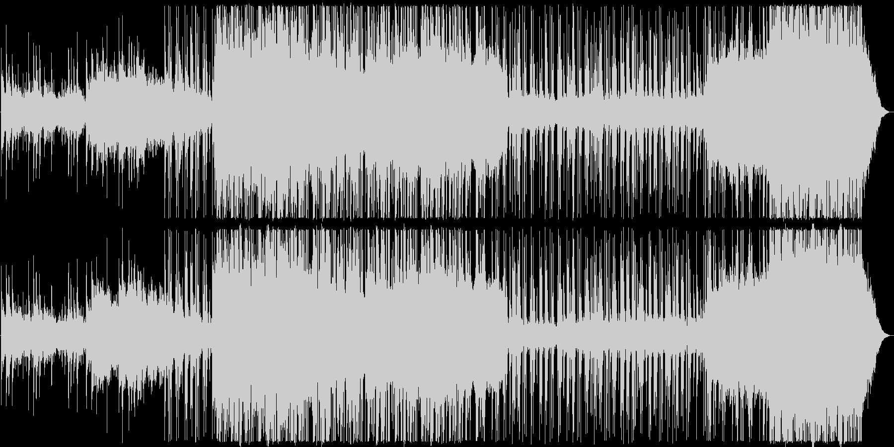 海 流氷 エレクトロニカ 和音階グリッチの未再生の波形
