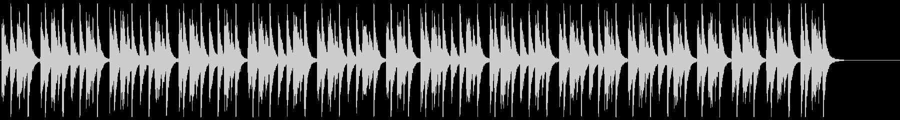 ストンプ(ボディパーカッション)+ギターの未再生の波形