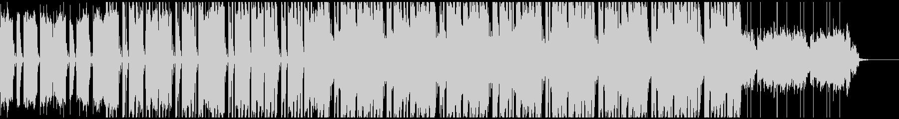実験的な岩 バックシェイク ポジテ...の未再生の波形