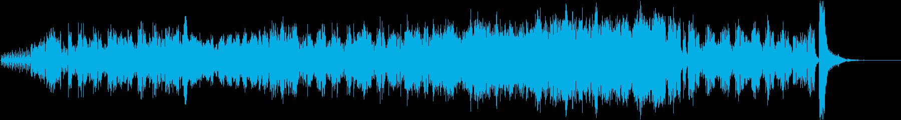 ディズニー風 ワクワクオーケストラBGMの再生済みの波形