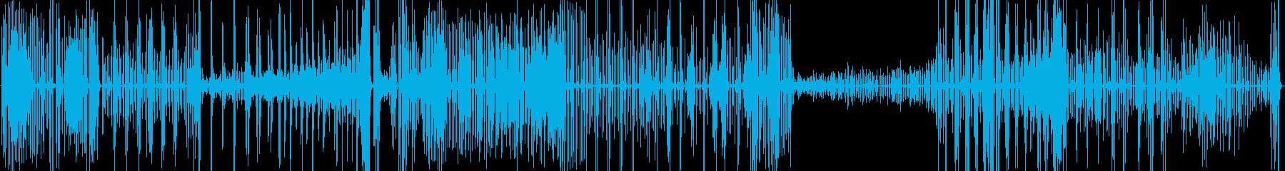 1本のコンガでフリーソロ Congasの再生済みの波形