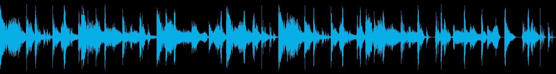 2-stepのリズムにファンクの再生済みの波形