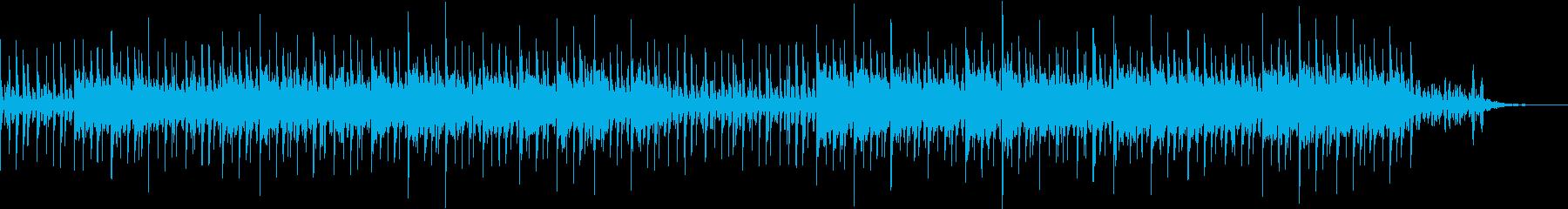 壮大なポストロック風シンセ ループ音源の再生済みの波形