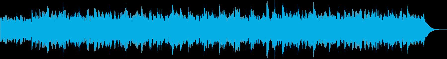 ミステリアスで感傷的なオルゴールサウンドの再生済みの波形