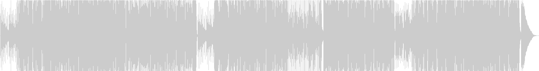 70年代風フュージョン系スムースジャズの未再生の波形