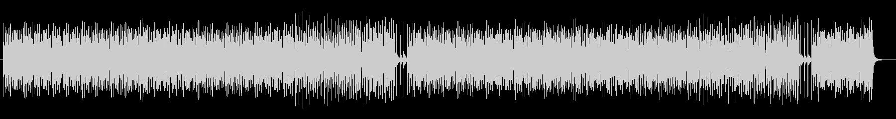 ポップでリズミカルなピアノBGMサウンドの未再生の波形