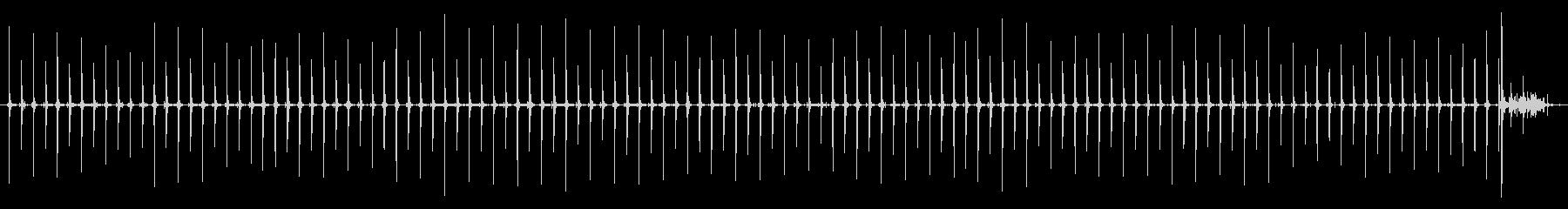 柱時計 - 振り子 (HPL2)の未再生の波形