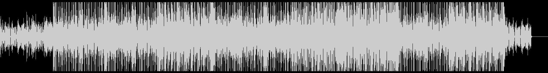 グルービーなエレクトリック・ファンクの未再生の波形