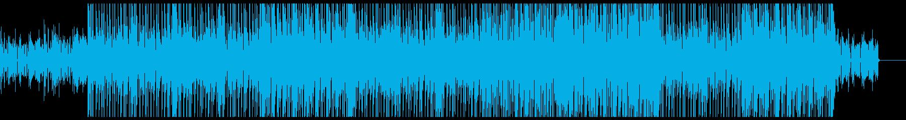 グルービーなエレクトリック・ファンクの再生済みの波形