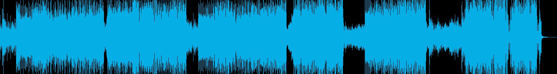 可愛く弾けるアニメ調ロック B2の再生済みの波形
