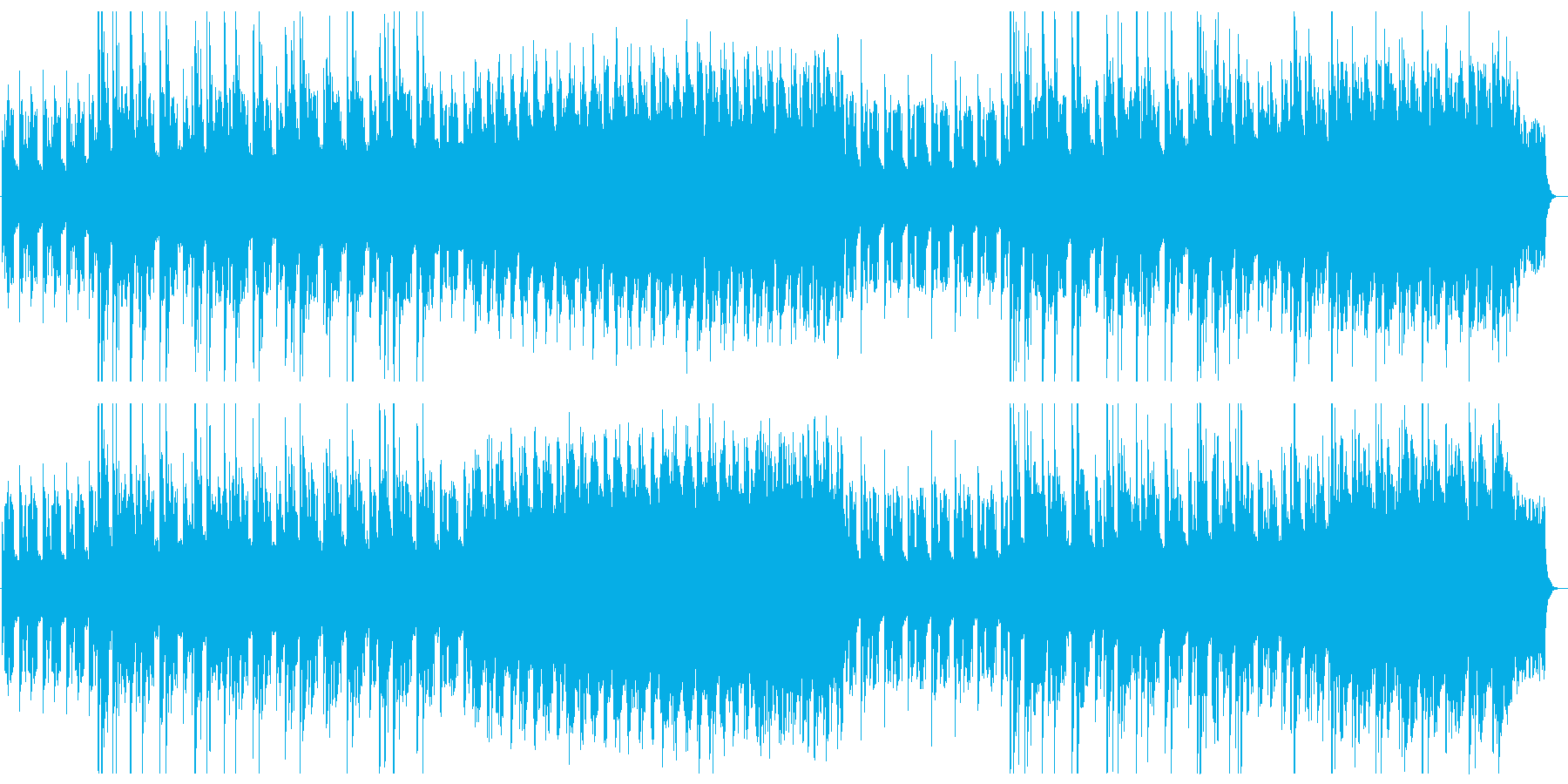 サスペンス,ホラー,ピアノやオルゴールの再生済みの波形