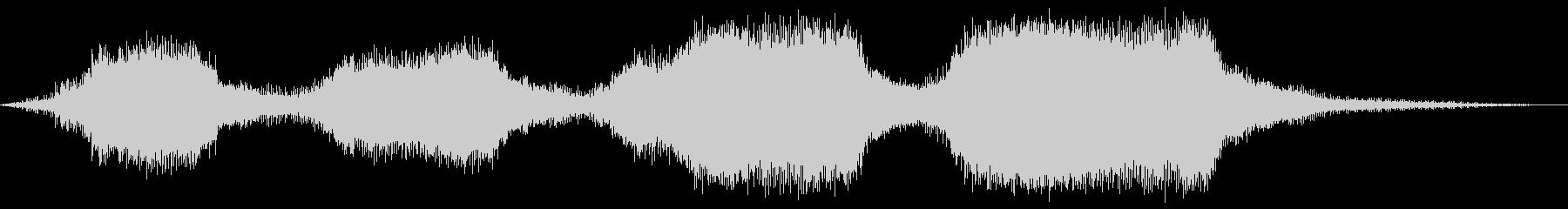 チェーンソー-操作-木材の切断の未再生の波形
