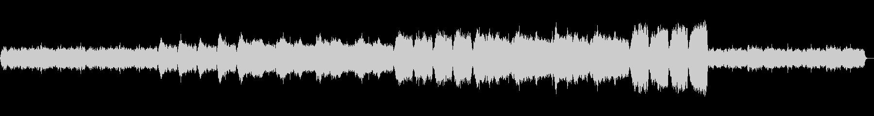 シンセストリングス、オーケストラ。...の未再生の波形