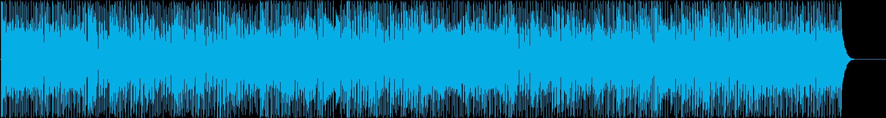 若さあふれる懐かしいディスコBGMの再生済みの波形