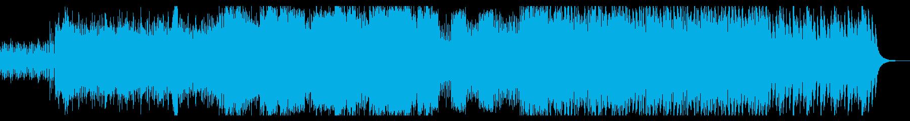 元気になれる応援曲的な吹奏楽曲の再生済みの波形