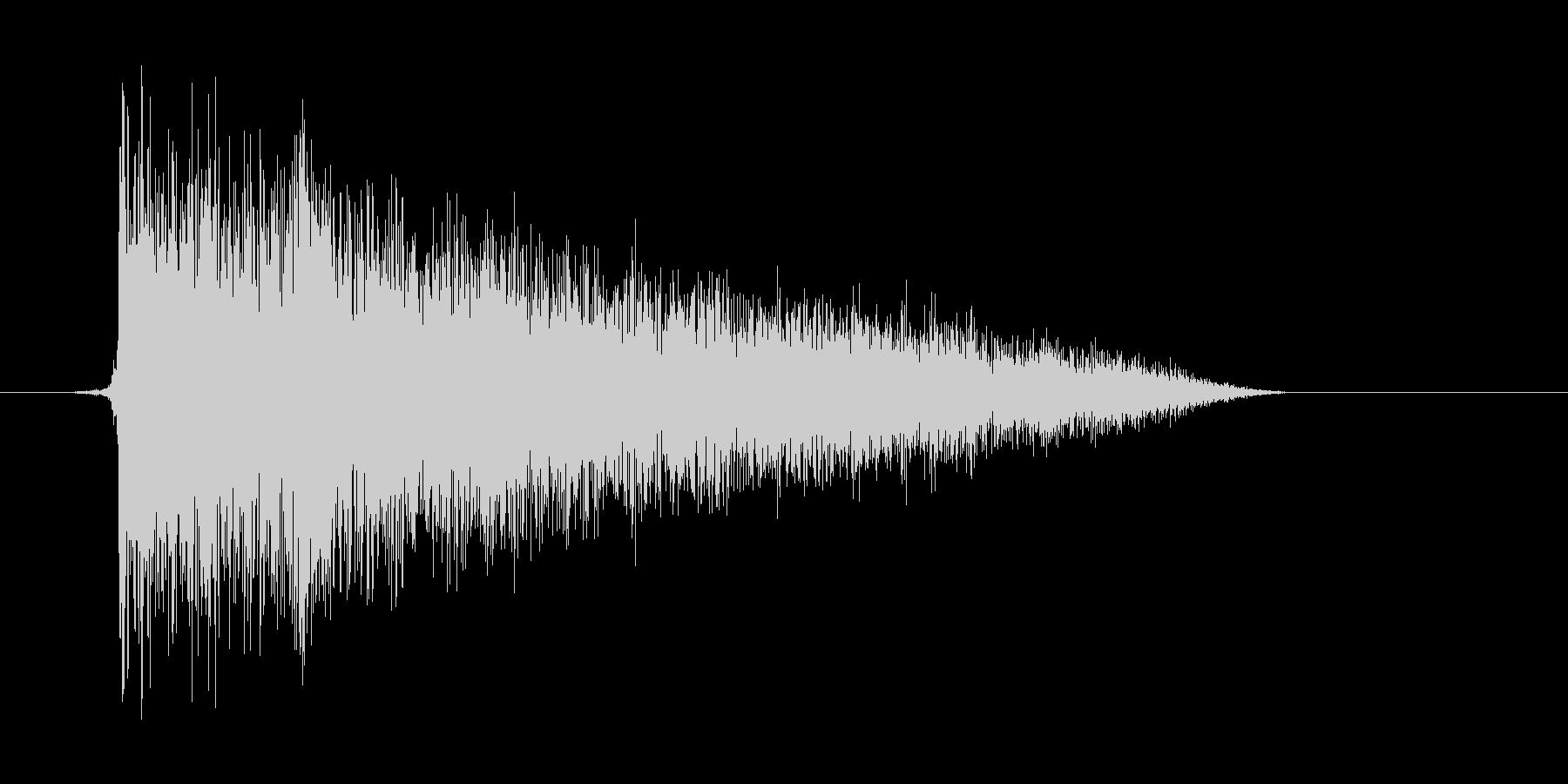 ゲーム(ファミコン風)爆発音_005の未再生の波形