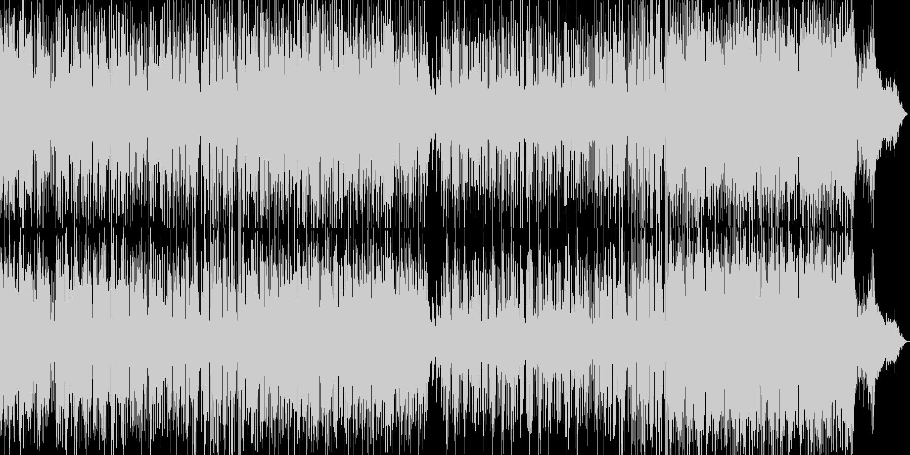 高音質♪和風アジア風琴と笛の曲の未再生の波形