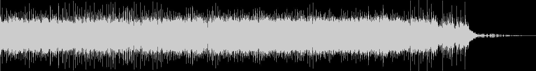 ヒップホップ系の静かなBGMですの未再生の波形