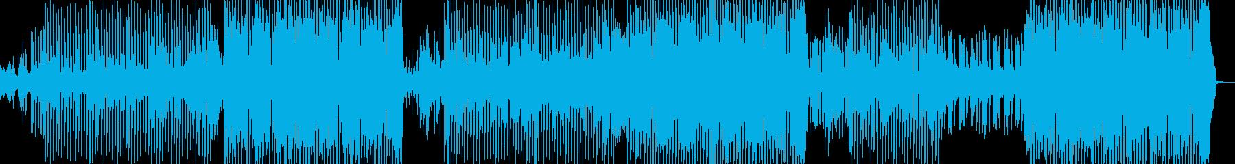 エレクトロダンスポップ、男性ボーカ...の再生済みの波形